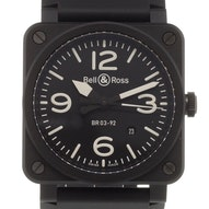 Bell & Ross Aviation - BR 0392-BL-CE
