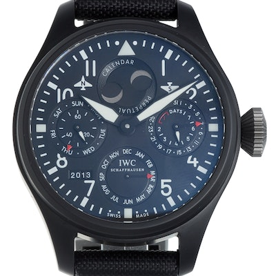 IWC Pilot's Watch Big Pilot Perpetual Calendar Top Gun Ceramic - IW502902