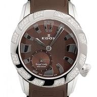 Edox Royal Lady mit Diamanten - 23087 3D80 BRIN