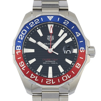 Tag Heuer Aquaracer Calibre 7 GMT Automatic - WAY201F.BA0927