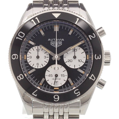 Tag Heuer Heuer Heritage Calibre HEUER 02 Automatic Chronograph - CBE2110.BA0687