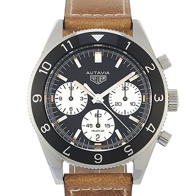 Tag Heuer Heuer Heritage Calibre HEUER 02 Automatic Chronograph - CBE2110.FC8226