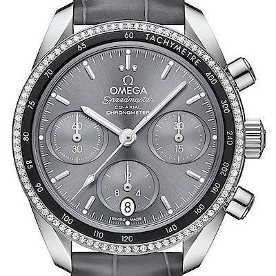 Omega Speedmaster 38 Co-Axial Chronograph  - 324.38.38.50.06.001