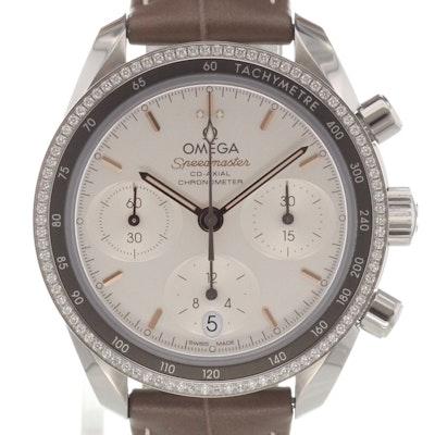 Omega Speedmaster 38 Co-Axial Chronograph  - 324.38.38.50.02.001