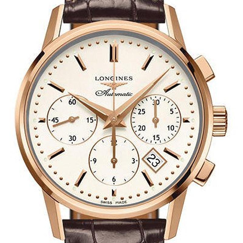big sale fca9b f074e Longines Heritage Column-Wheel Chronograph L2.749.8.72.2