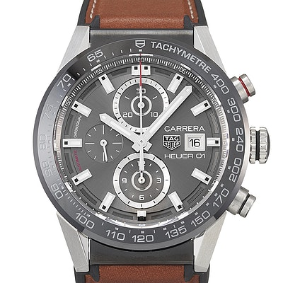 Tag Heuer Carrera Calibre Heuer 01 Automatic Chronograph - CAR201W.FT6122