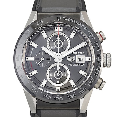 Tag Heuer Carrera Calibre Heuer 01 Automatic Chronograph - CAR201W.FT6095