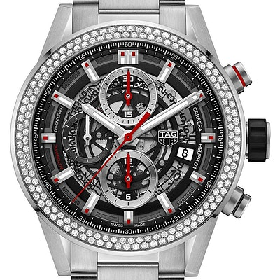 Tag Heuer Carrera Calibre Heuer 01 Automatic Chronograph - CAR201P.BA0766