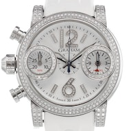 Graham Swordfish Diamonds Chronograph - 2SWFS.W02A.K20B