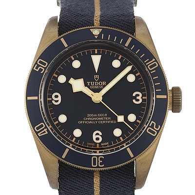 "Tudor Black Bay Bronze ""Bucherer Blue Edition"" - 79250BB"