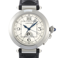 Cartier Pasha 42 GMT Grande Date Night & Day - W31093M7