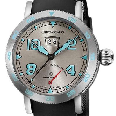Chronoswiss Timemaster Retrograde Day  - CH-8143-WH/71-2