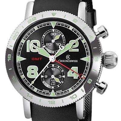 Chronoswiss Timemaster Chronograph GMT  - CH-7553.1/71-2