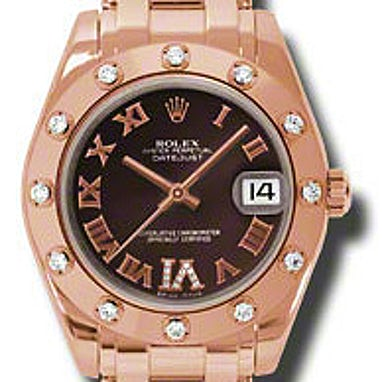 Rolex Pearlmaster 34 - 81315