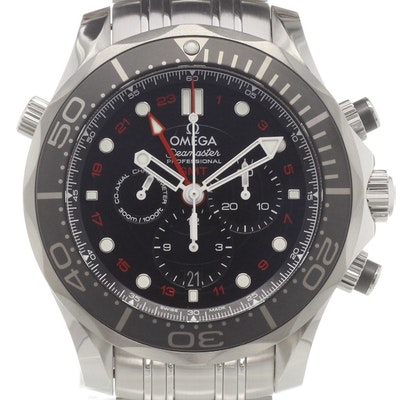 Omega Seamaster Diver 300M Co-Axial GMT Chronograph - 212.30.44.52.01.001