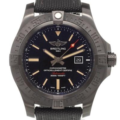 Breitling Chronomat Avenger Blackbird  - V1731010.BD12.100W.M20BASA.1