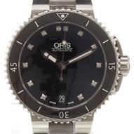 Oris Aquis Date Diamonds - 01 733 7652 4194-07 8 18 01P
