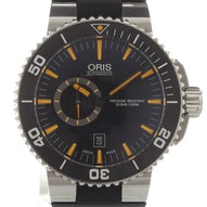 Oris Aquis Small Second Date - 01 743 7673 4159-07 4 26 34EB