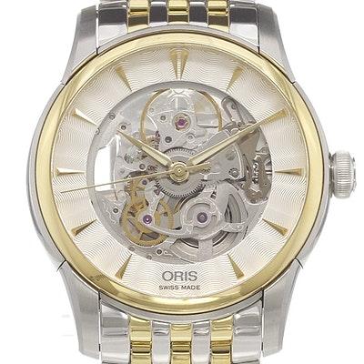 Oris Artelier Skeleton - 01 734 7670 4351-07 8 21 78