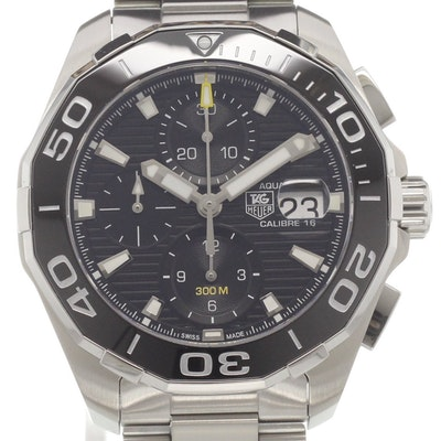 Tag Heuer Aquaracer Calibre 16 Day-Date Automatic Chronograph - CAY211A.BA0927