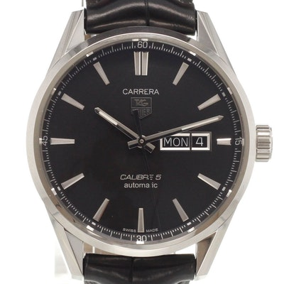 Tag Heuer Carrera Calibre 5 Day-Date Automatic - WAR201A.FC6266