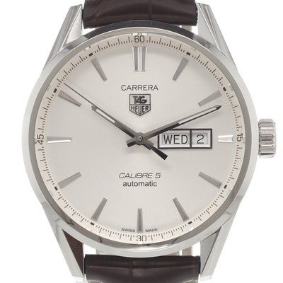 Tag Heuer Carrera Calibre 5 Day-Date Automatic - WAR201B.FC6291