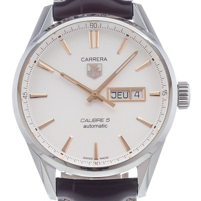 Tag Heuer Carrera Calibre 5 Day-Date Automatic - WAR201D.FC6291