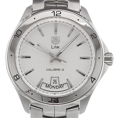 Tag Heuer Link Calibre 5 Day-Date Automatic - WAT2011.BA0951