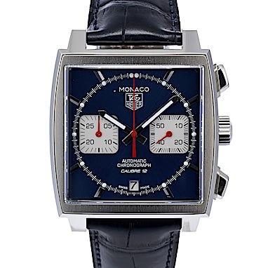 Tag Heuer Monaco Calibre 12 Automatic Chronograph - CAW2111.FC6183