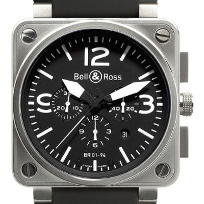 Bell & Ross BR 01 Chronograph - BR0194-BL-ST