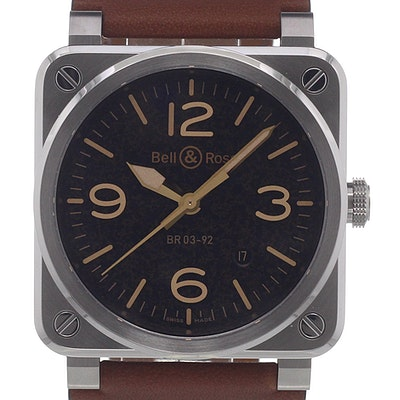 Bell & Ross BR 03  - BR0392-ST-G-HE/SCA