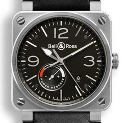 Bell & Ross BR 03 Réserve De Marche - BR0397-BL-SI/SCA