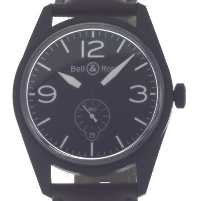 Bell & Ross BR 123 Original - BRV123-BL-CA/SCA