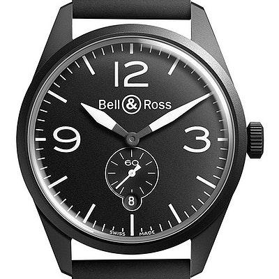 Bell & Ross BR 123 Original - BRV123-BL-CA/SRB