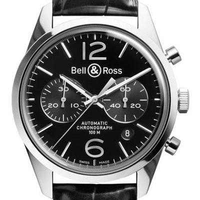 Bell & Ross BR 126 Officer - BRG126-BL-ST/SCR