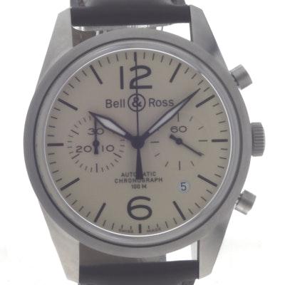 Bell & Ross BR 126 Original - BRV126-BEI-ST/SCA