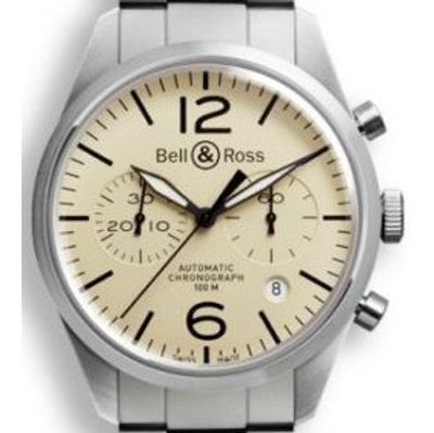 Bell & Ross BR 126 Original Beige - BRV126-BEI-ST/SST