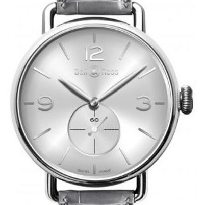 Bell & Ross WW1 Argentium Silver - BRWW1-ME-AG-SI/SCR