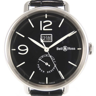 Bell & Ross WW1 Grande Date - BRWW190-BL-ST