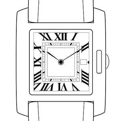 Cartier Tank Anglaise - WT100017