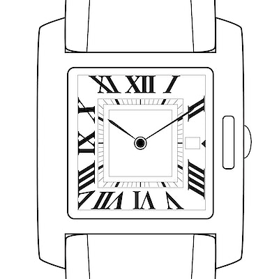 Cartier Tank Anglaise - WT100028