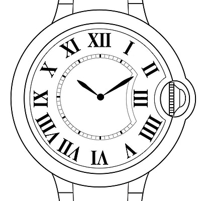 Cartier Ballon Bleu  - WE902026