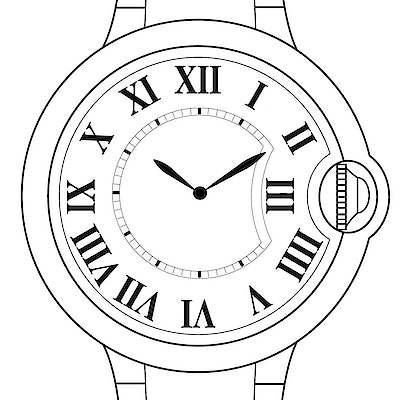 Cartier Ballon Bleu  - WE900551