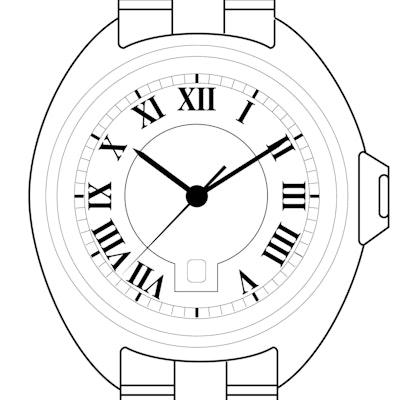 Cartier Clé  - WJCL0011