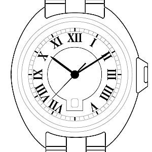 Cartier Clé HPI00981