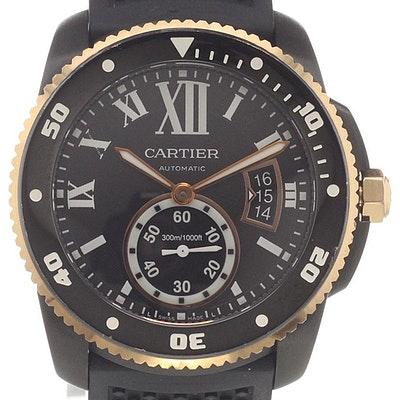 Cartier Calibre Diver Karbon - W2CA0004