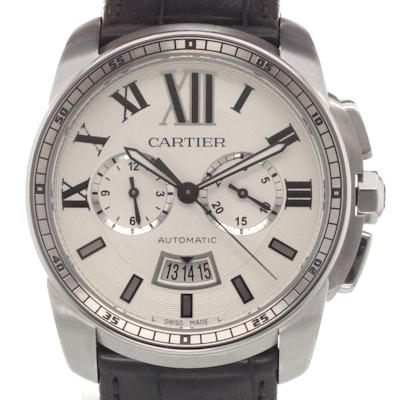 Cartier Calibre Chronograph - W7100046
