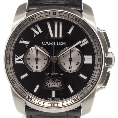 Cartier Calibre Chronograph - W7100060