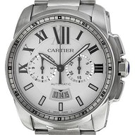 Cartier Calibre De Cartier Chronograph - W7100045