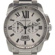 Cartier Calibre De Cartier Chronograph - W7100045